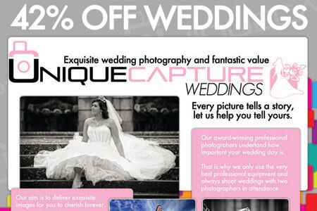 42% off Wedding Promotional Packages