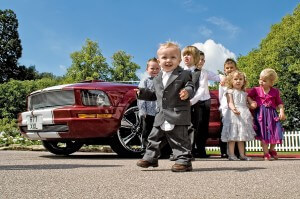 Children - Guests at a wedding photographed by Uniquecapture in Milton Keynes