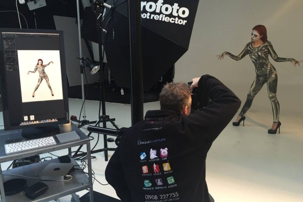 Photographer training services in Milton Keynes